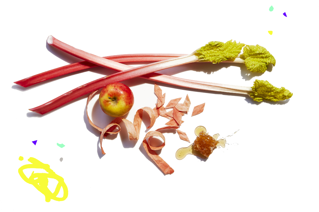 Rhubarb & Apple Leather